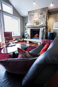 Wendy Wilson of Unique Interiors helped the owners with interior design and choosing the exterior colours. Photograph by: Debra Brash